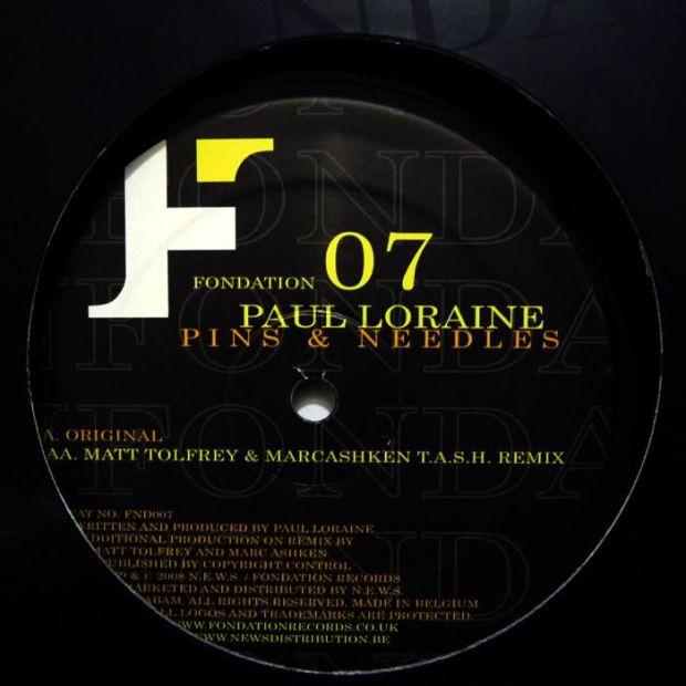 Paul Loraine - Pins & Needles EP [Fondation]