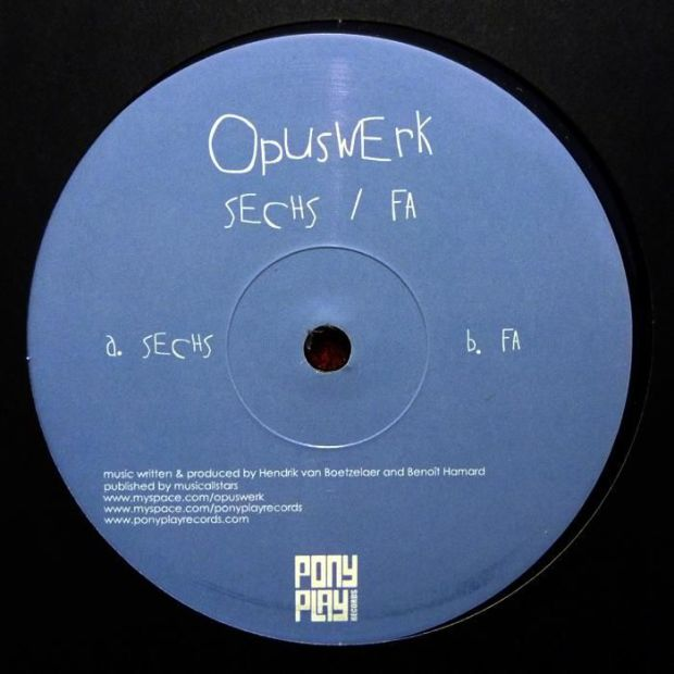 OPUSWERK – SECHS : FA EP [PONY PLAY RECORDINGS]