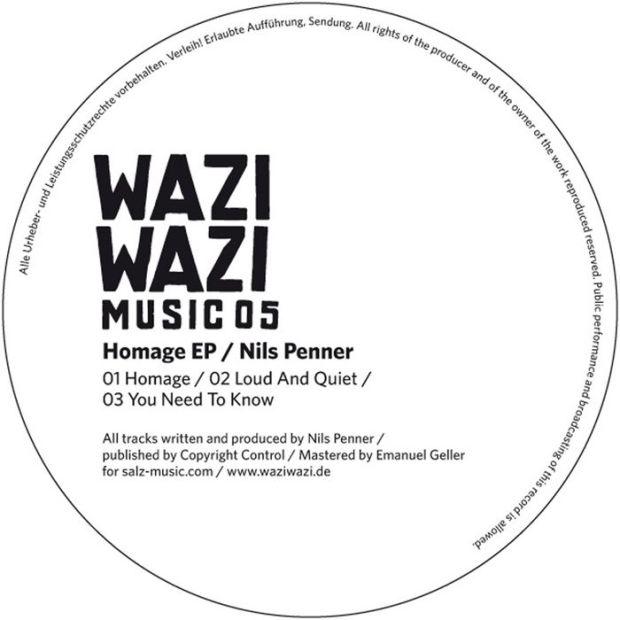 NILS PENNER – HOMAGE EP [WAZI WAZI]