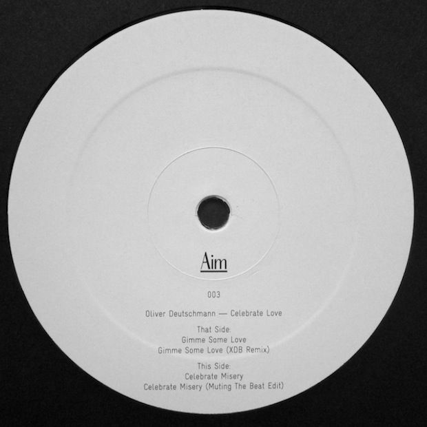OLIVER DEUTSCHMANN – CELEBRATE LOVE [AIM VINYL]