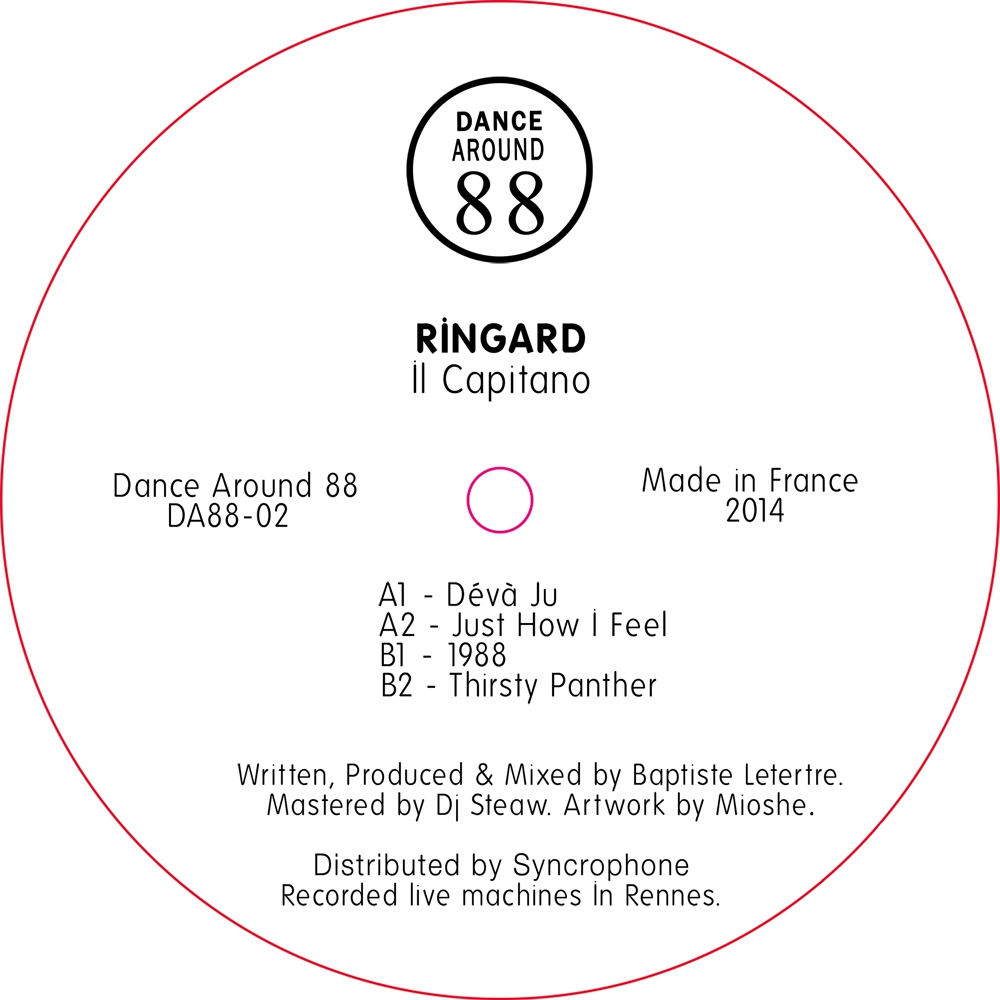 Ringard - Il Capitano [Dance Around 88]