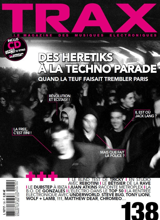 Couverture Trax Heretik