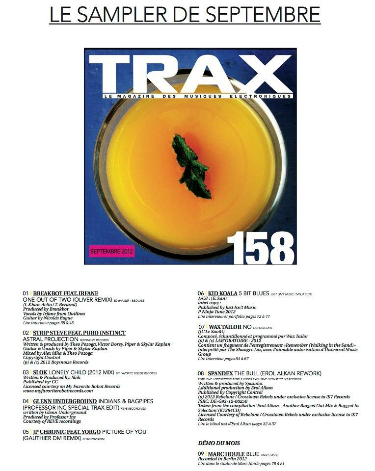 Sampler Trax 175