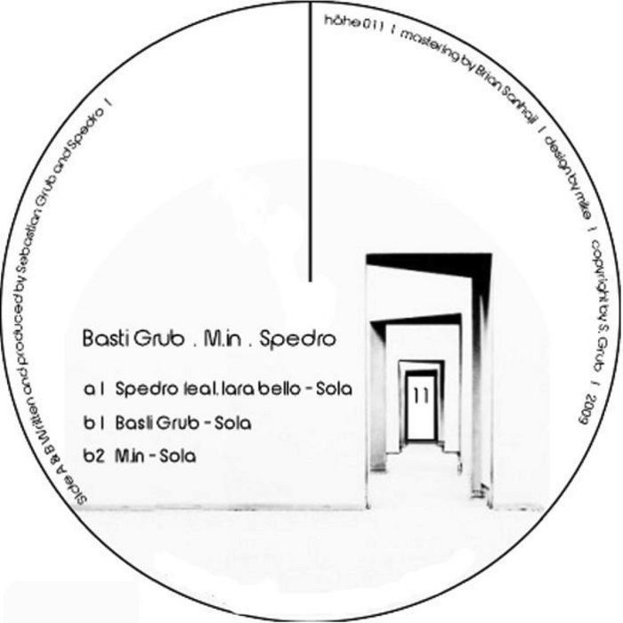 SPEDRO FEAT. LARA BELLO – SOLA EP [HÖHENREGLER]