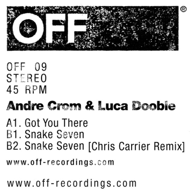 Andre Crom & Luca Doobie - Got You There EP