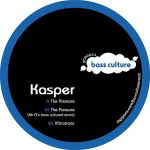 KASPER – THE PRESSURE EP [BASS CULTURE RECORDS]