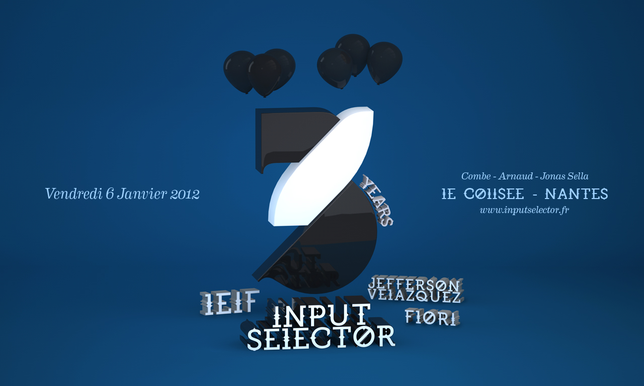 Input Selector 3 Years Birthday @ Colisée Club, Nantes